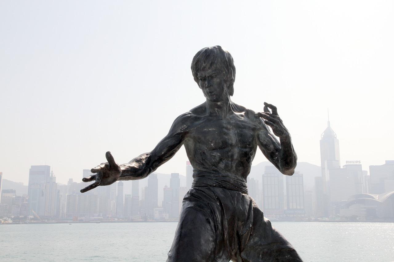 Statua-Bruce-Lee