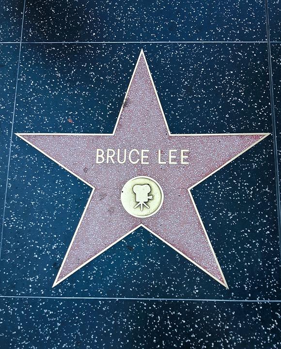 walk of fame bruce lee